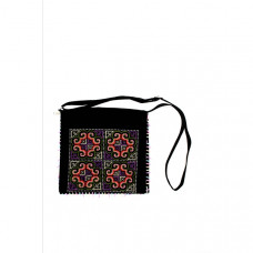 Handmade  Bag For Women Ethnic Oriental Style Traditional Palestinian Cross Stitch Embroidery