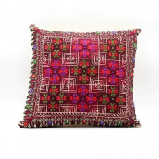 Hand Made Embroidered Pillow- Unique design for your Home - Palestinian Embroidery