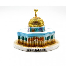 Kudss Dome of the Rock mosque handmade art model  Jerusalem Qubbat As-Sakhrah