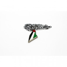Palestine Flag Style Handmade Necklace Neck Chain Travel Souvenir Gift Fashion Clothes Collocation